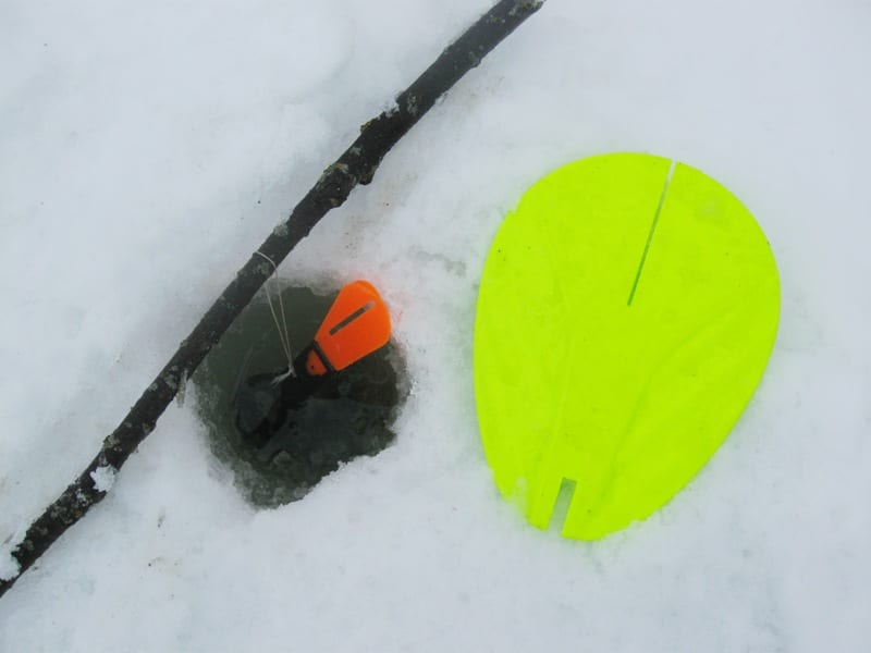 How to disguise tackle in winter